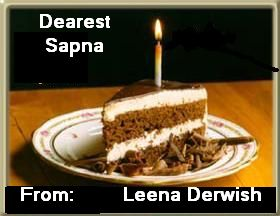 Birthday Cake Images With Name Sapna : Best Wishes